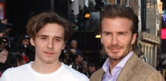 Brooklyn Beckham és David Beckham