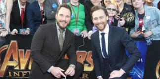 Chris Pratt és Tom Hiddleston