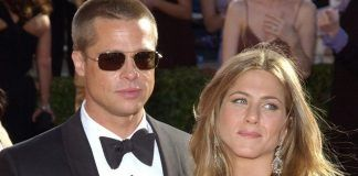 Jennifer Aniston és Brad Pitt